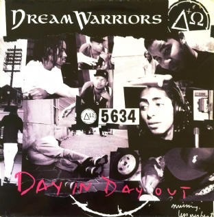 "Dream Warriors - Day In Day Out (12"") (VG-/VG)"